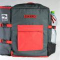 batoh ESKERO červený pro 4 osoby 4