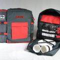 batoh ESKERO červený pro 4 osoby 6