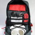 batoh ESKERO červený pro 4 osoby 7